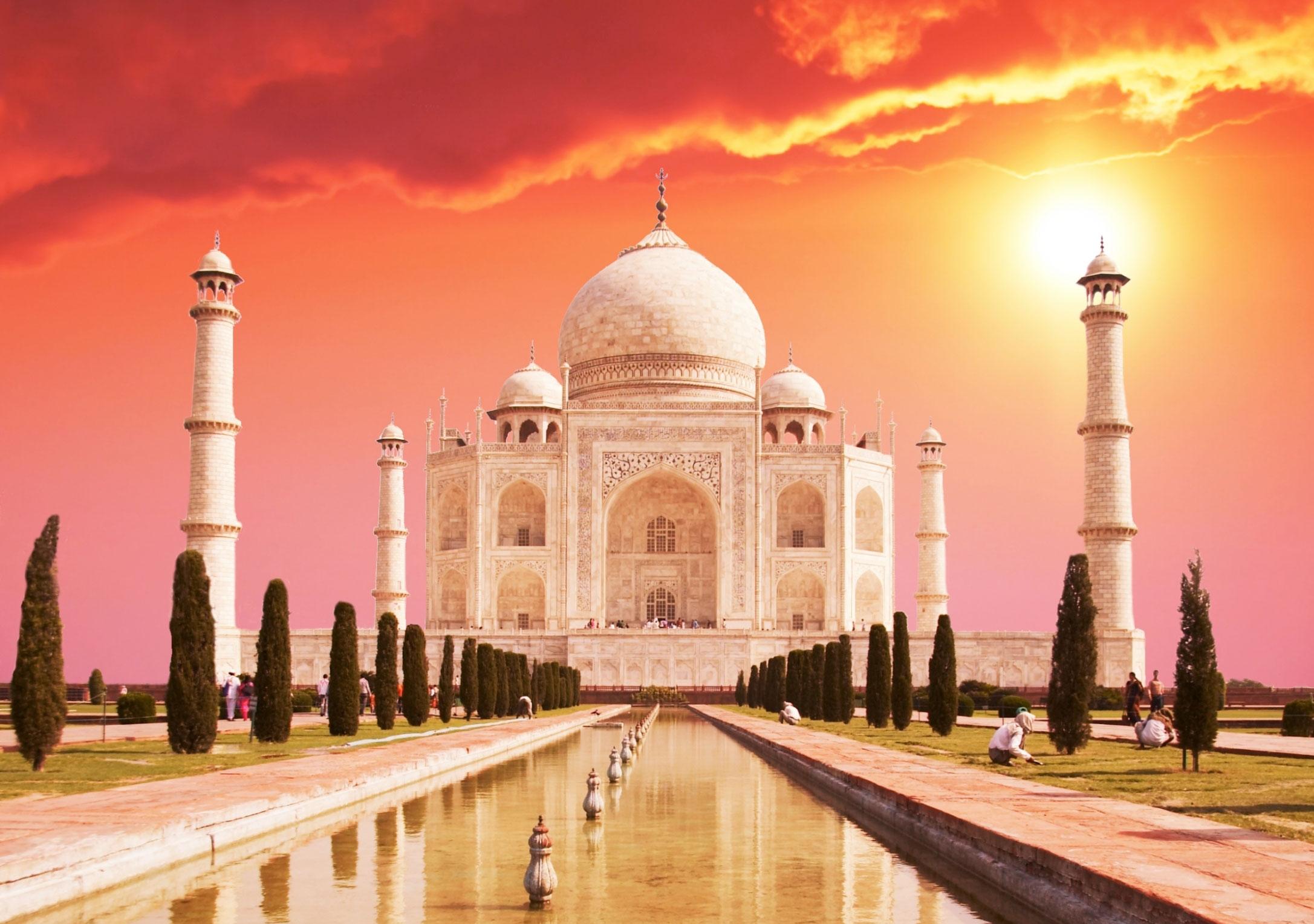Taj-Mahal sunset quotes