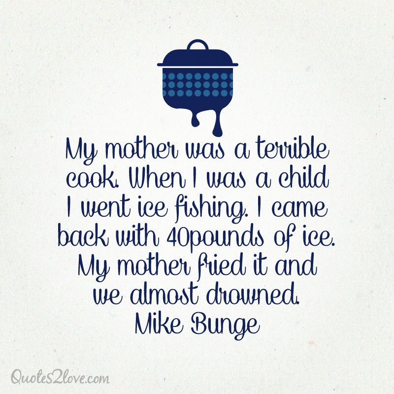FUNNY MOM COOKING QUOTES