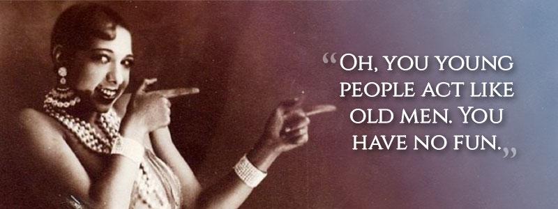 Josephine Baker's last words